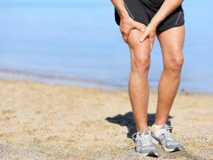 Muskelbristning i laret