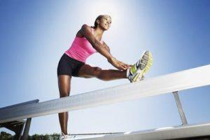 Stretchövning benhinneinflammation | GraceWellness